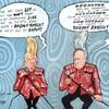 Cartoonist asks for help recovering stolen festival works