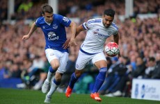 Worrying times as Seamus Coleman limps out of Everton win holding his hamstring