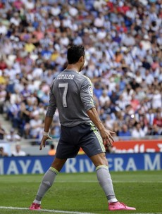 Cristiano Ronaldo scores FIVE as Real Madrid thump Espanyol