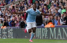 Late, late winner from teenage supersub keeps City's 100% record intact
