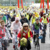If you're driving around Dublin today, watch out for cyclists - thousands of cyclists