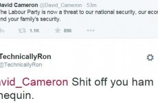 11 really cutting replies to THAT David Cameron tweet