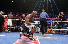 Floyd Mayweather matched Rocky Marciano's undefeated record and nobody really cared