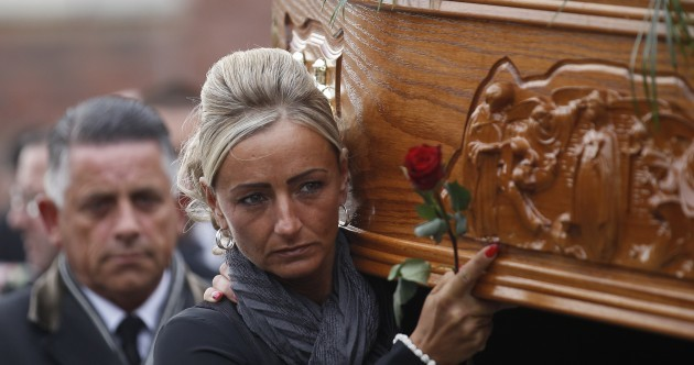 "After ""43 years of pain"" IRA victim Kevin McKee is laid to rest"