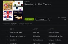 Someone has made the Reeling in the Years Spotify playlist you've always dreamed of