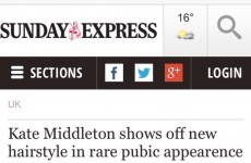 Can you spot what's wrong with this Kate Middleton headline?