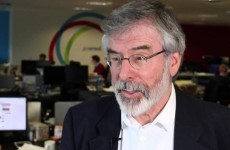 The vast majority of people don't believe Gerry Adams