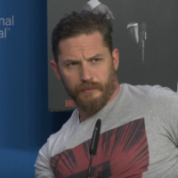 Watch Tom Hardy shut down a question about his sexuality and try not to cringe to death