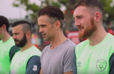 A familiar face was on hand to lend his support to Ireland at the Homeless World Cup