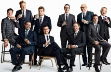 This all-male Vanity Fair photo of talk show hosts has caused some controversy