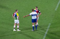 A scrum-half was mic'd up for a game in Australia, and he would not shut up