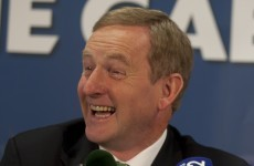 Enda was banging on about the 'political magicians' today