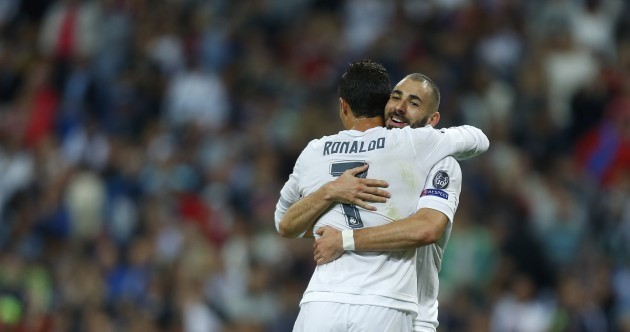 Ronaldo hat-trick gets Blancos off to perfect start