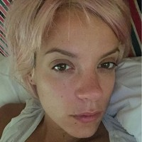Lily Allen hit back at newspapers for saying her life is 'out of control'... it's The Dredge