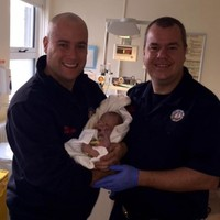 Two babies delivered with help of Dublin firefighters this morning