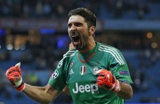 Gianluigi Buffon gave a goalkeeping masterclass for Juventus last night