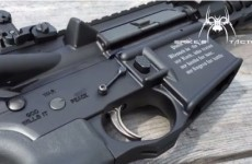 An American gunmaker put a Bible verse on a 'Christian' assault rifle so that no 'Muslim terrorist' can use it