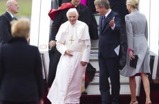 Pope Benedict lands in Germany for official visit