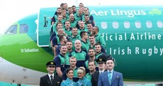 In pics: The Irish squad depart for the 2015 Rugby World Cup