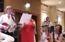 This Irish best man pulled off the most epic speech at his brother's wedding
