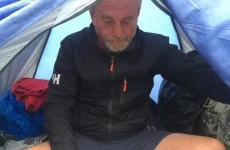 "Man sleeping rough on Killiney beach ""not confident of surviving"" winter"