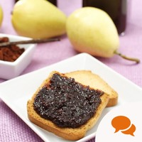 Pear and chocolate jam I can make in under 45 minutes? What's not to love?