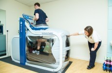 The new anti-gravity treadmill is helping GAA stars recover from injury quicker