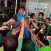 Slideshow: Irish stars go back to school in Rotorua