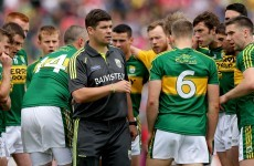 Three changes to Kerry team to face Dublin with captain dropped to bench for All-Ireland final