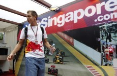 Singapore GP: Vettel isn't feeling the pressure