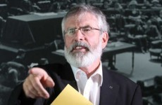 "Gerry Adams hits back at Joan Burton's 1916 ""hijack"" claim"