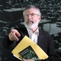 "Gerry Adams hits back at Joan Burton's 1916 ""hijack"" claim"