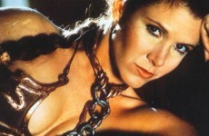 Princess Leia's gold bikini is up for sale. If you're into that sort of thing