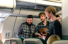 Kodaline surprised Aer Lingus passengers with an in-flight busk