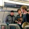 Kodaline surprised Aer Lingus passengers with an in-flight busk
