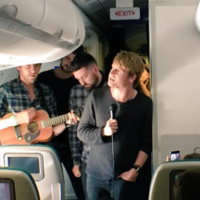 Take a break and check out Kodaline performing on an Aer Lingus flight