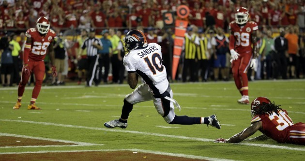 The mental finish to Broncos v Chiefs had 2 touchdowns in just 9 seconds