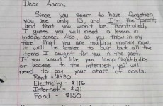 This mum's letter putting her entitled teenage son in his place is going viral