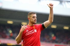 Liverpool dealt another major injury blow after Jordan Henderson suffers training ground injury