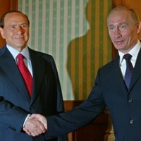 Outrage as Putin and Berlusconi drink $100,000 bottle of 240-year-old wine