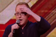 Joe from Donna and Joe popped up on the X Factor last night