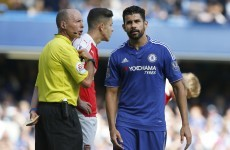 Brian Kerr and 7 other people who were NOT impressed with Costa's antics today