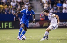 Didier Drogba continued his impressive start in MLS last night