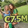 There was just one winner of last night's tasty €7.4m Lotto jackpot
