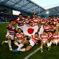 Here's how the last few moments of yesterday's epic clash played out on Japanese TV