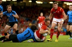 Wales put seven tries past Uruguay, but three more players limp off with knocks