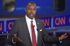Republican candidate Ben Carson thinks a Muslim shouldn't be elected US president