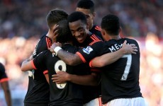 Martial and Mata fire Man United up to second with win at Southampton