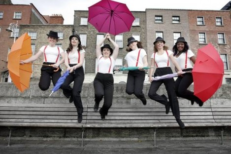 Pictured at the launch of Culture Night 2011 are Tallaght Community School Dance Team members, from left, Louise Dunne (14), Roisin Condon (15), Linda Doyle (14), Sarah Mahon (14), Angelika Palka (15) and Ornella Mazono (15)