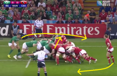 Analysis: Ireland hold back at scrum time to unleash training ground moves